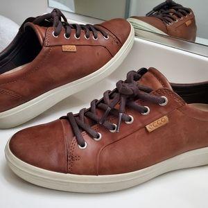 ECCO Soft 7 Low Sneaker COGNAC
